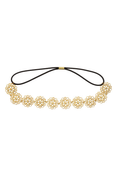 Hairband - Gold - Ladies | H&M CA 1